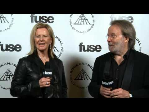 Rock and Roll Hall of Fame 2010 - ABBA - Benny and Frida Interview