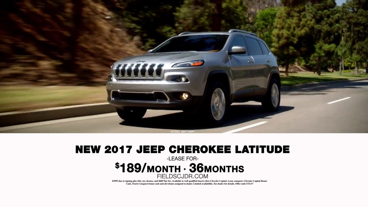 Memorial Day Sales Event Jeep Latitude Limited Offer YouTube - Chrysler capital bonus cash