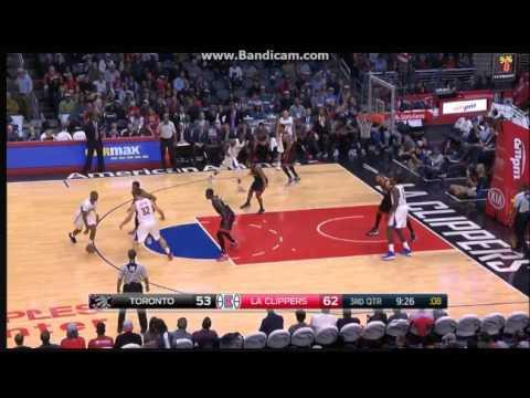 Chris Paul 26 Pts , 12 Ast vs. Raptors - Los Angeles Clippers vs. Toronto Raptors - NBA - 21/11/2016