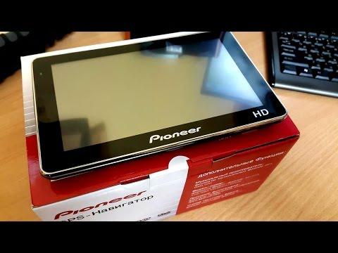 Обзор GPS навигатора Pioneer 7