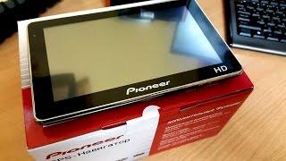 """Обзор GPS навигатора Pioneer 7"""""""