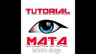 TUTORIAL CARA MEMBUAT VECTOR ART MATA UNTUK PEMULA VIA APLIKASI INFINITE DESIGN ANDROID