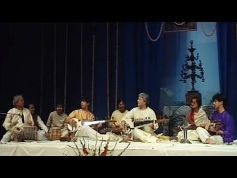 Raga Yaman | Amjad Ali Khan | Amaan Ali Bangash | Ayaan Ali Bangash | Pandit Kishan Maharaj on Tabla