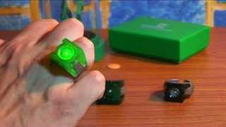 "Обзор на кольца по фильму ""Зелёный фонарь"". Green lantern, movie rings"