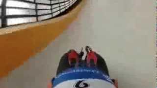 Бопслейская трасса глазами спортсмена в Сочи на Олимпиаде 2014
