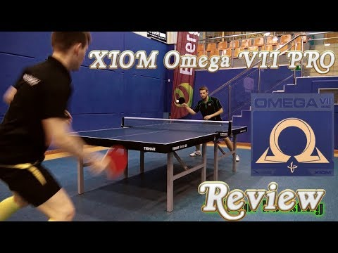 Review Xiom Omega VII PRO (Michal Vs Dan TableTennisDaily) #tabletennis