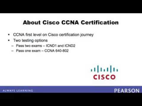 Ccna certification exam detail - YouTube