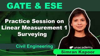 Practice Session on Linear Measurement 1 | Surveying | Civil Engineering | Simran Kapoor