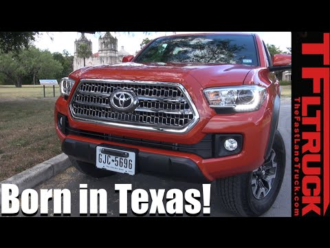 Born in Texas: A Visit to the Birth Place of the Toyota Tundra & Tacoma!
