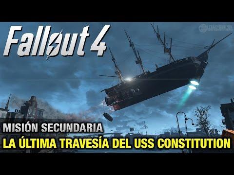 Fallout 4 - Misión Secundaria - La Última Travesía del USS Constitution (Español - 1080p 60fps)