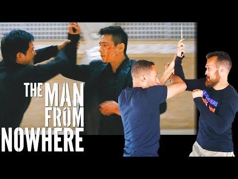 FILIPINO KALI KNIFE FIGHTING | The Man From Nowhere Fight Scene