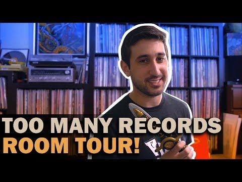 My Vinyl Setup/Room Tour/Record Collecting 101