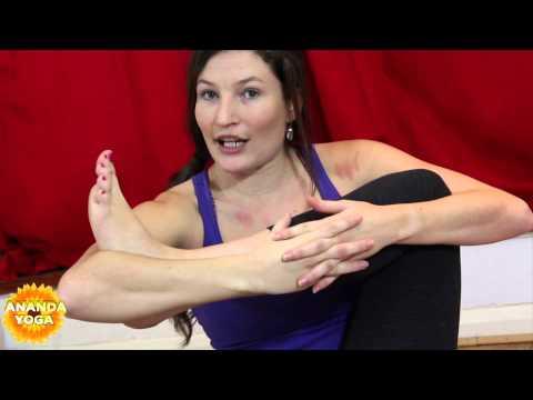 Yoga for Flexibility : Eight Angle Pose