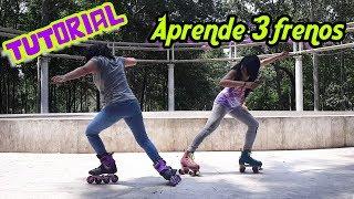 Tutorial: aprende 3 frenos (patines en línea y quads)