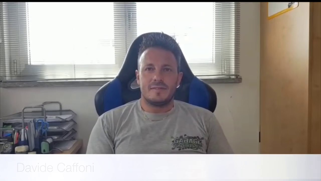 Davide Caffoni al Rally Valli Ossolane 2019