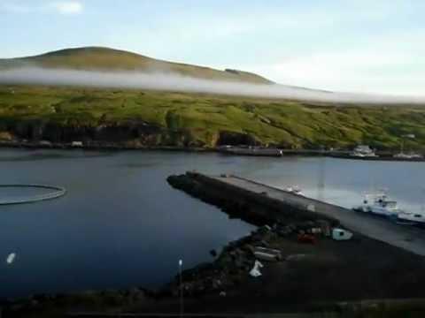 Driving from Vágar Airport to Tórshavn