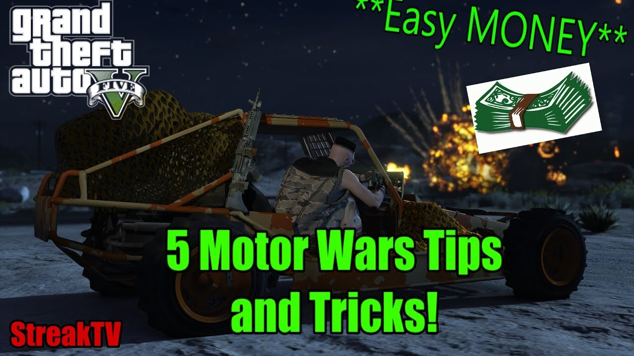 Gta 5 5 Motor Wars Tips And Tricks Easy Wins And Money