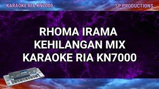 KARAOKE RHOMA IRAMA - KEHILANGAN MIX COVER KN7000