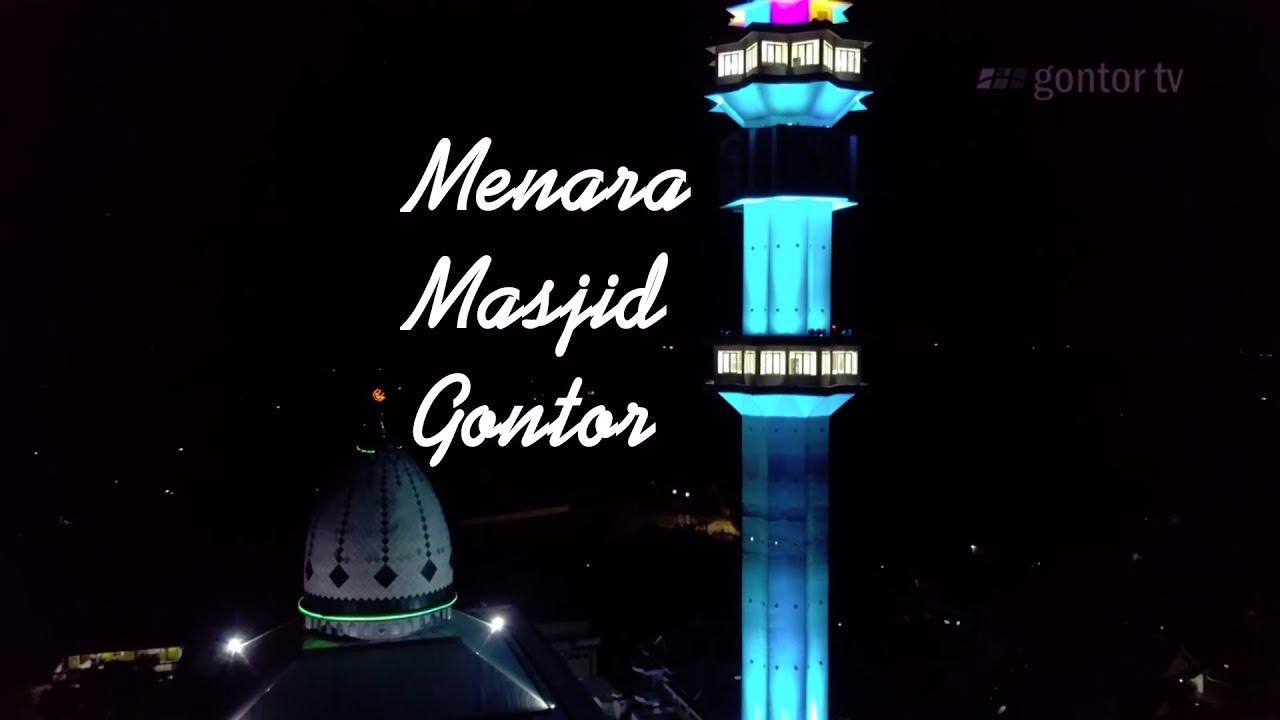 Menara Masjid Gontor Aerial View Youtube