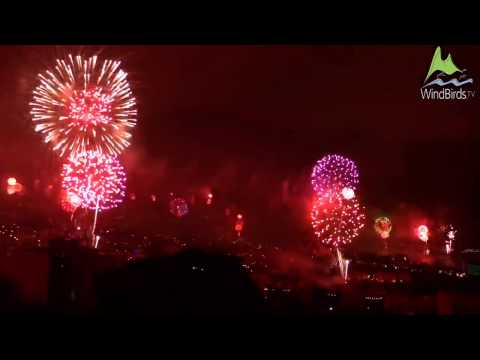 Madeira New Year Fireworks 2017 HD Live