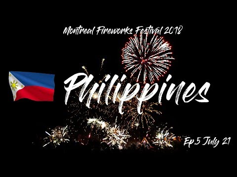 WINNER of Montreal Fireworks Festival, PHILIPPINES, Of Games and Thrones, July 21 2018