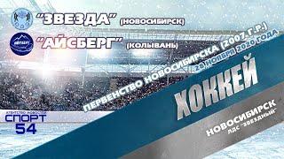 """#хоккей #спорт . Первенство Новосибирска (2007 г.р.). """"Звезда""""-""""Айсберг"""" 28 ноября 2020 года"""