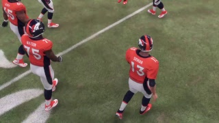 Madden 18 - Los Angeles Chargers vs Denver Broncos - Full Game Simulation Nation
