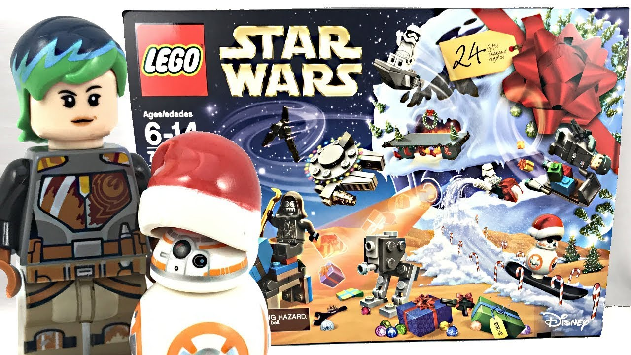 joulukalenteri star wars 2018 LEGO Star Wars Advent Calendar 2017 review and unboxing! 75184  joulukalenteri star wars 2018