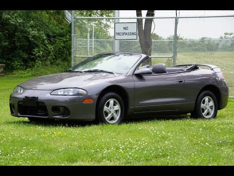 1998 mitsubishi eclipse gs spyder convertible 5 speed manual youtube 1998 mitsubishi eclipse gs spyder convertible 5 speed manual