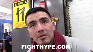 BRANDON RIOS REVEALS TOP RANK GAVE HIM PERMISSION TO
