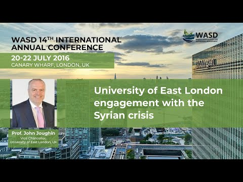 University of East London engagement with the Syrian crisis