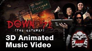 Down '71 (The Getaway) 3D Animated Music Video - BTNHFanvids