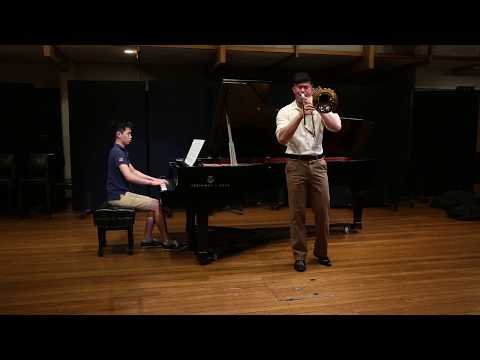 A Song for Japan (Trombone & Piano) HD