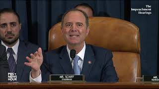 WATCH: Rep. Adam Schiff's full closing statement in Hill and Holmes hearing