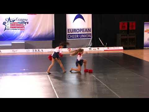 90 JUNIOR DOUBLE FREESTYLE POM Pavlic   Soldo CHEERLEADING CLUB LANA 1 CROATIA
