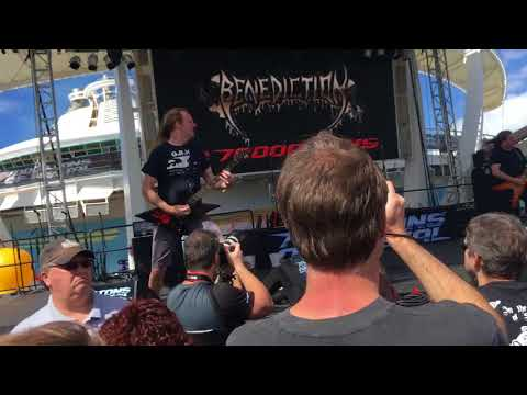 Benediction - Artefacted Irreligion / Spit Forth The Dead 70000 Tons of Metal