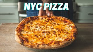 Is this the secret to New York style pizza at home? NY PIZZA RECIPE