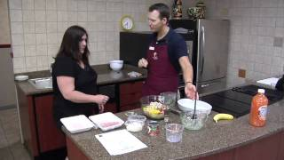 Celebrity Guest: Tyler Ramey, Ymca Healthy Living Director - Healthy Turkey Meatloaf