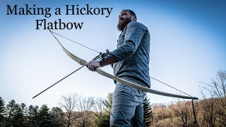 Making an American Flatbow: Hickory