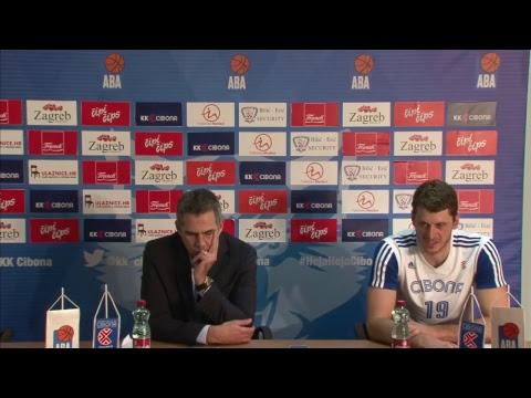 Press konferencija (LIVE) KK Cibona - MZT Skopje