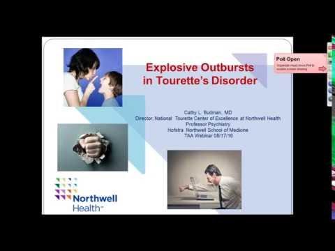 Explosive Outbursts and Tourette