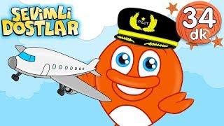 Uçağım Uçar ✈️şarkısı | Sevimli Dostlar Bebek Şarkıları | Adisebaba TV Kids Songs and Nursery Rhymes