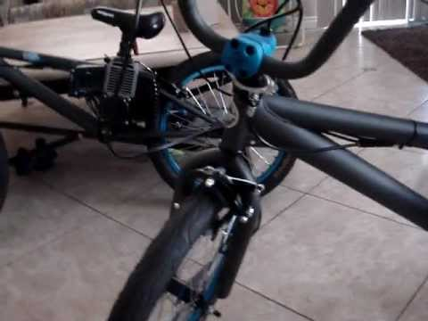Motorized Bmx Bike For Sale Gas Motor Bike Not A Kit Youtube