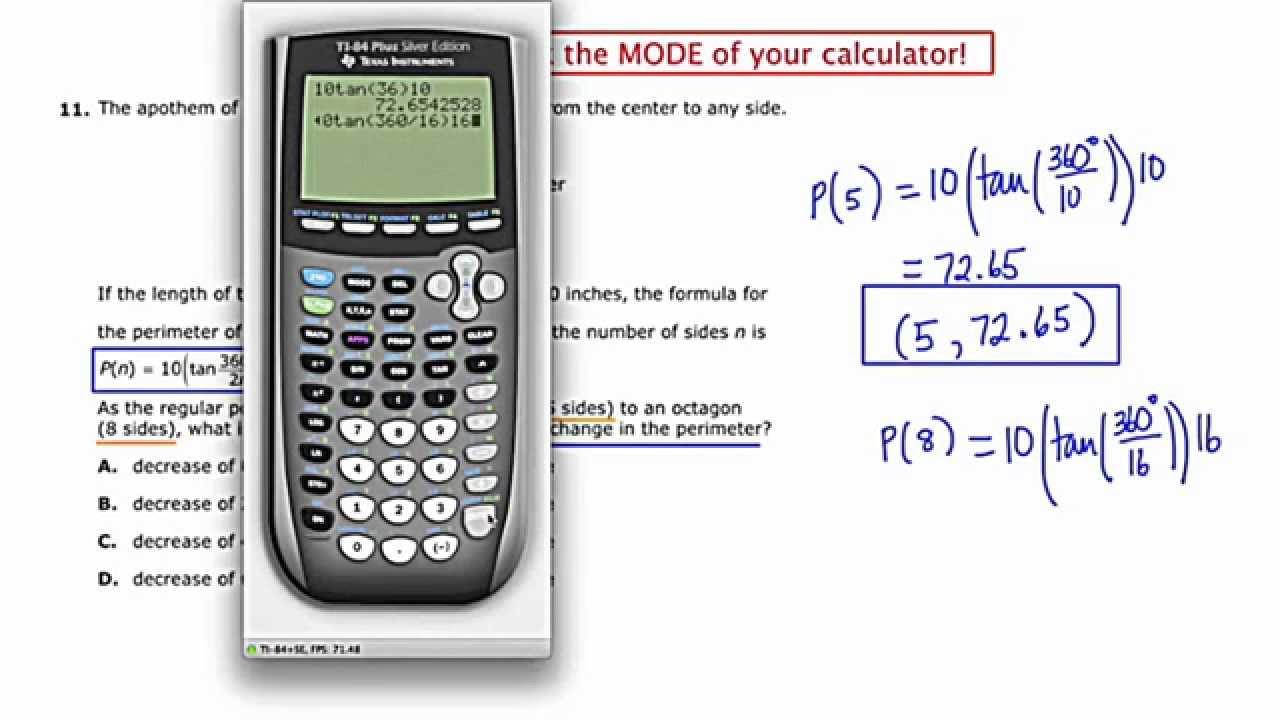 MathCamp321: PARCC (Algebra 2) Practice Test - Question 11