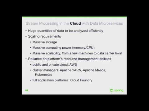 2016-03 Event-Driven Microservices with Spring Cloud