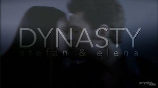 dynasty. | stefan&elena