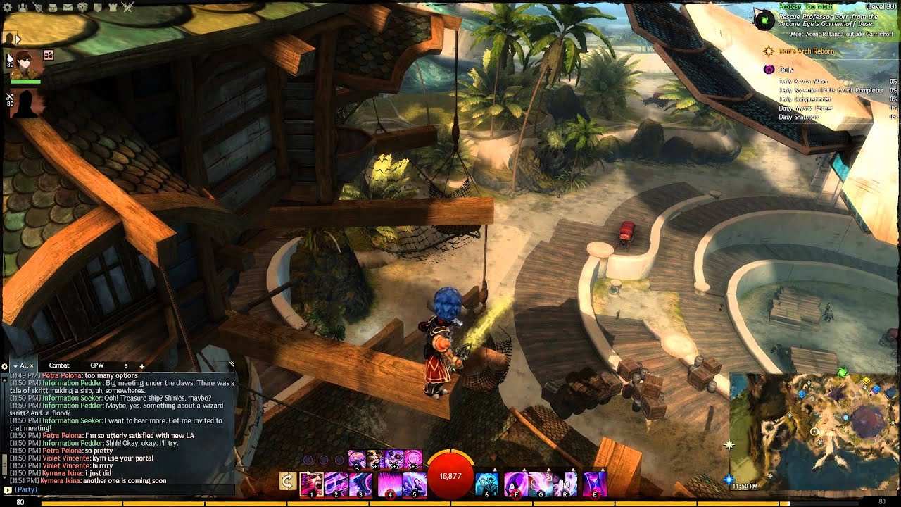 Lion\'s Arch - Jumping Puzzle - Troll\'s Revenge + All 4 Keys - YouTube