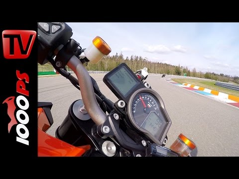 KTM 1290 Super Duke R | Gyrocam - 60FPS - Brünn Circuit - Onboard