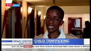 Alarm over rise of child trafficking incidents  in the country