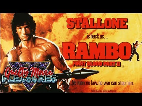 """Rambo: First Blood Part 2 (1985)... is a """"Guilty Movie Pleasure"""""""